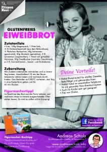 Glutenfreies Eiweissbrot