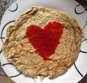 Pfannkuchen ohne Kohlenhydrate und Fett