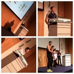 Andreas Scholz, Philipp Rauscher, Mario Klintworth, Athleten der Physique Generation