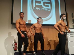Athleten der Physique Generation