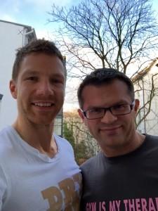 Mark Maslow und Andreas Scholz