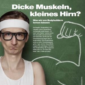 dicke muskeln -bild