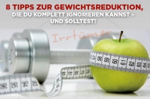 8 Tipps zur Gewichtsreduktion_ Bild
