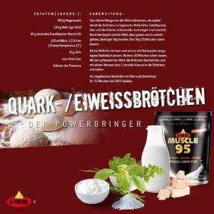 Quark-Eiweißbrötchen