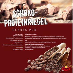 Schoko-Proteinriegel